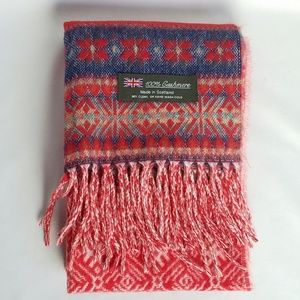 "Cashmere scarf made in Scotland 72"" long × 11.5"""